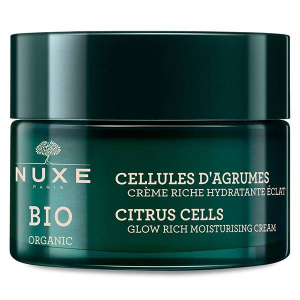 Nuxe Bio Crème Riche Hydratante Éclat Cellules d'Agrumes 50ml