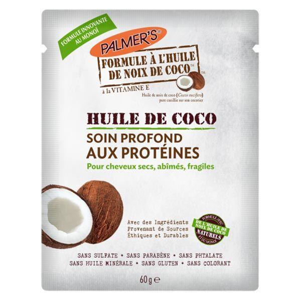 Palmer's Huile de Coco Soin Pronfond aux Protéines 60g