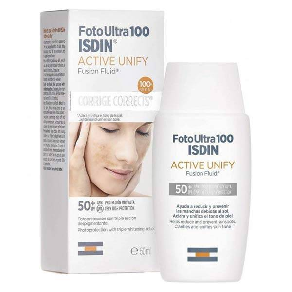Isdin FotoUltra Active Unify Fusion Fluid SPF50+ 50ml