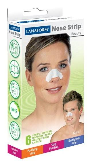 Lanaform Nose Strip Patchs Purifiant Nez boite de 6