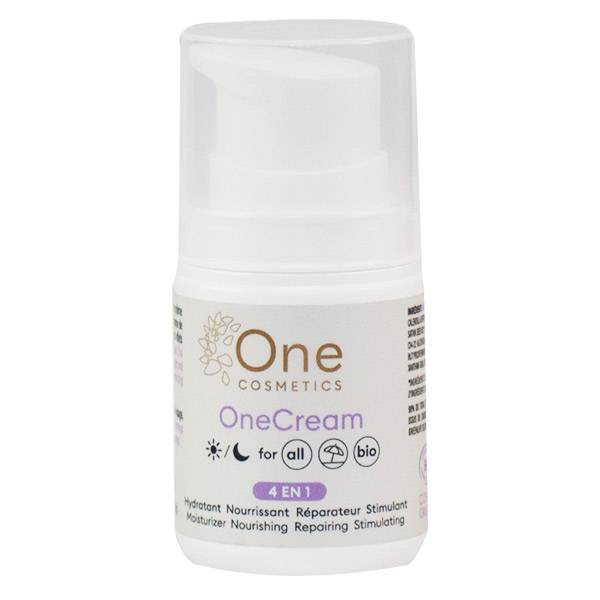 Laboratoire Mint-e Mint-e One Cosmetics OneCream Crème Hydratante 4en1 Bio 50ml