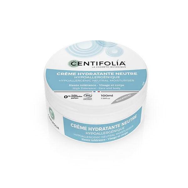 Centifolia Crème Hydratante Neutre Hypoallergénique Bio 100ml