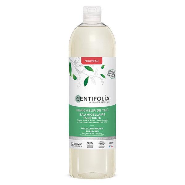 Centifolia Fraîcheur de Thé Eau Micellaire Purifiante Bio 500ml