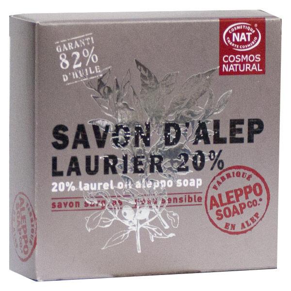 Tadé Savon Alep Laurier 20% Bio 100g