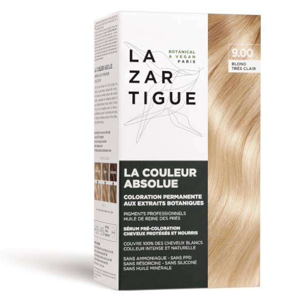 Lazartigue Couleur Absolue Coloration Blond Très Clair 9.00