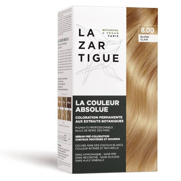 Lazartigue Couleur Absolue Coloration Blond Clair 8.00