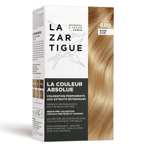 Lazartigue Couleur Absolue Coloration Blond Clair 8.00
