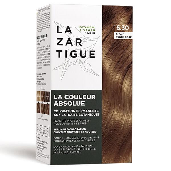 Lazartigue Couleur Absolue Blond Coloration Foncé Doré 6.30