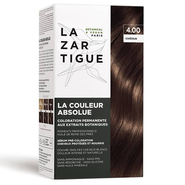 Lazartigue Couleur Absolue Coloration Châtain Chocolat 4.00