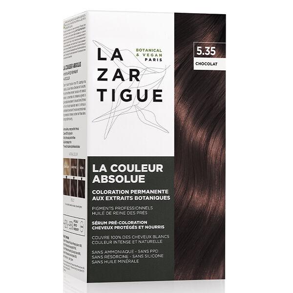 Lazartigue Couleur Absolue Coloration Chatain Clair Doré Acajou 5.35
