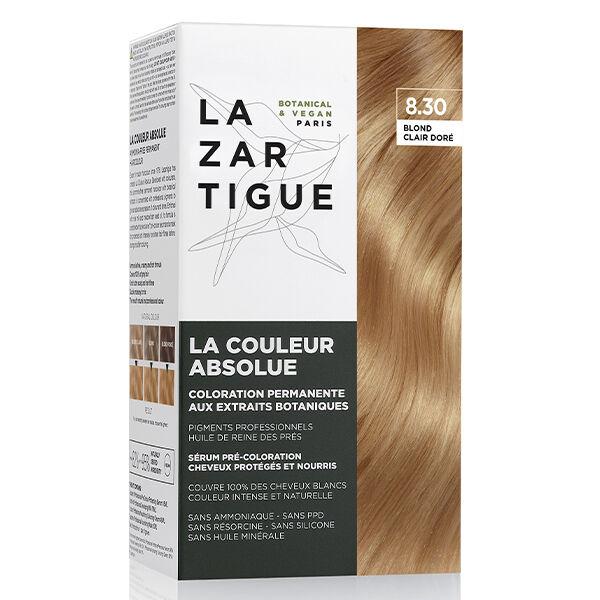 Lazartigue Couleur Absolue Coloration Blond Clair Doré 8.30