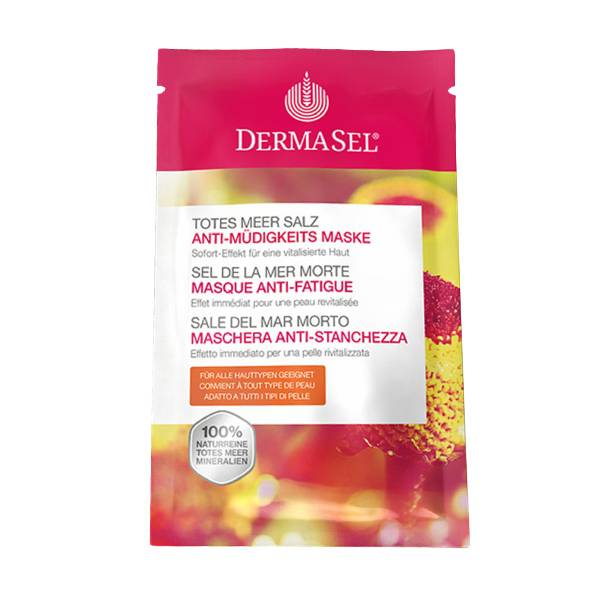 Dermasel Sel de la Mer Morte Masque Anti Fatigue 12ml