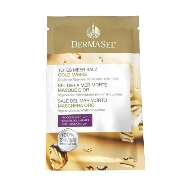 Dermasel Sel de la Mer Morte Masque d'Or 12ml