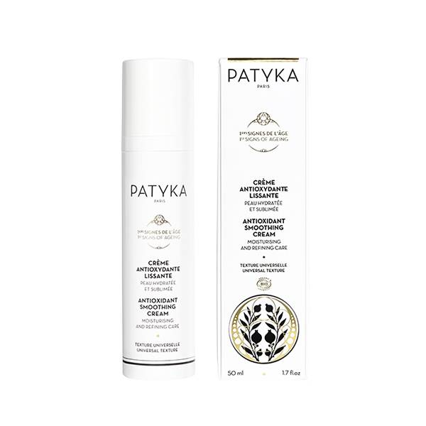 Patyka 1ers Signes de l'Âge Crème Antioxydante Lissante Texture Universelle Bio 50ml
