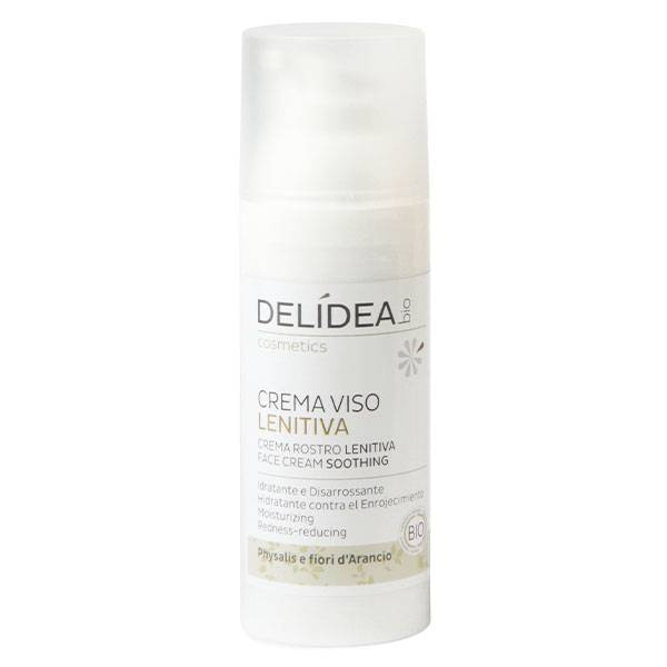 Delidea Physalis & Fleur d'Oranger Crème Visage Apaisant Bio 50ml