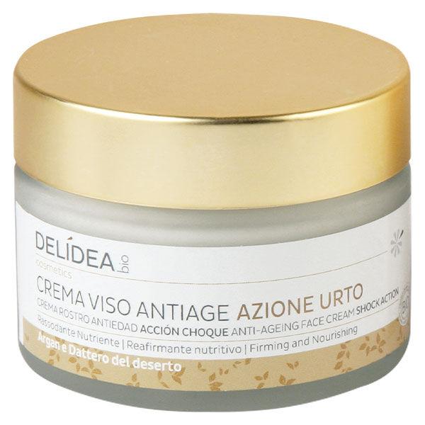 Delidea Argan & Datte Crème Visage Anti-Âge Action Choc Bio 50ml