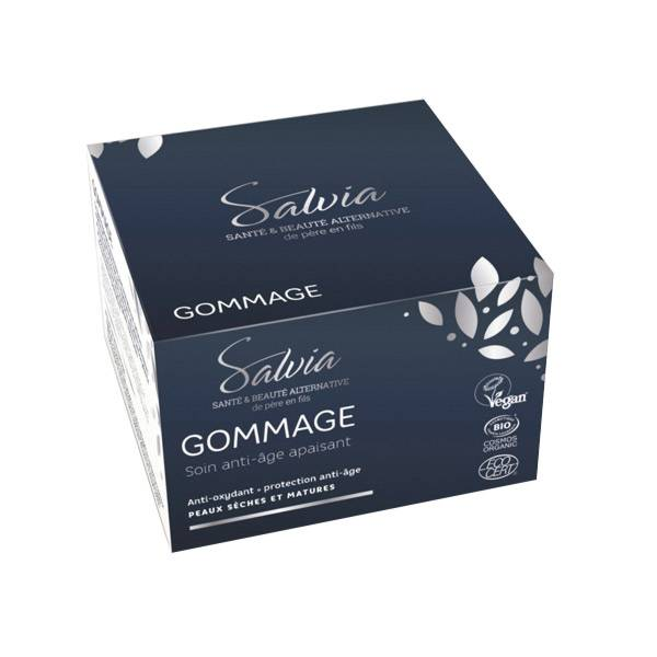 Salvia Gommage Soin Anti-Age Protecteur et Apaisant 50ml