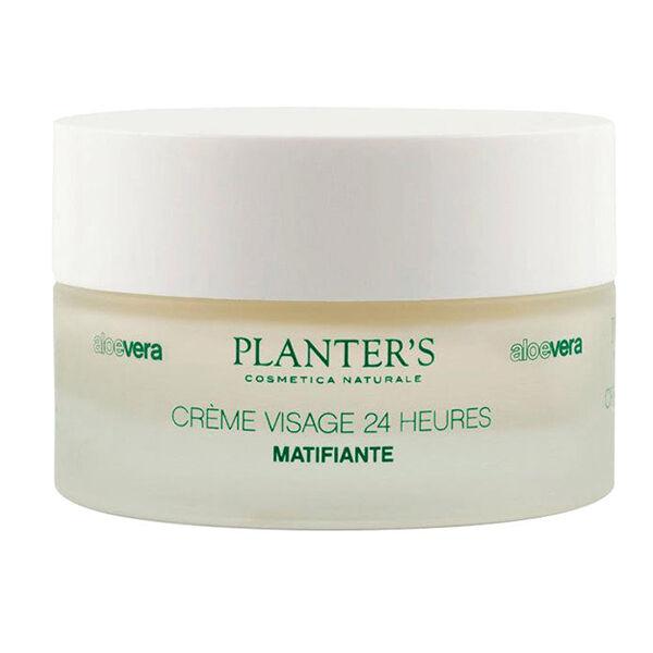Planter's Aloe Vera Crème Visage 24H Matifiante 50ml