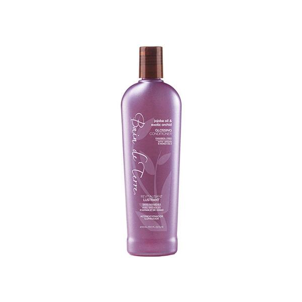 Bain de Terre Jojoba Oil & Exotic Orchid Après-Shampooing Brillance 400ml