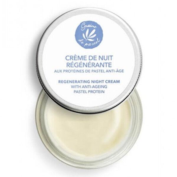 Graine de Pastel Crème de Nuit Régénérante 50ml