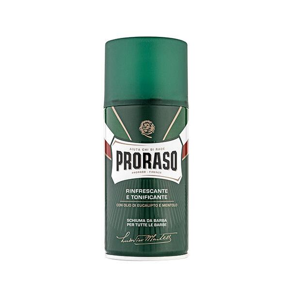 Proraso Green Mousse à Raser Tous type de Barbe 400ml