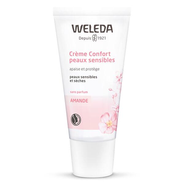 Weleda Amande Crème Confort Peaux Sensibles Bio 30ml