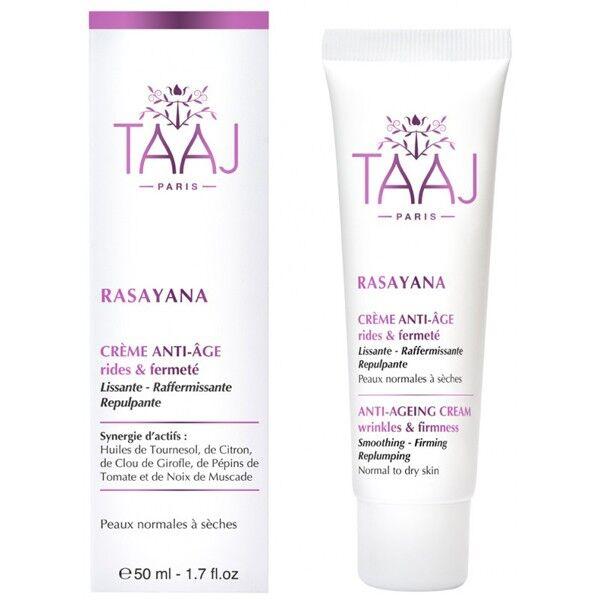 TAAJ - Rasayana - Crème Anti-âge Rides & Fermeté 50ml