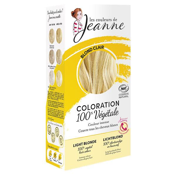Les Couleurs de Jeanne Coloration Végétale Blond Clair 100g