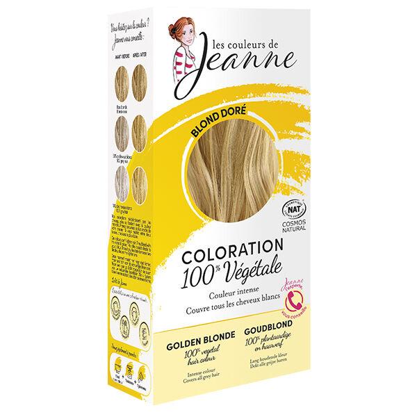 Les Couleurs de Jeanne Coloration Végétale Blond Doré 100g