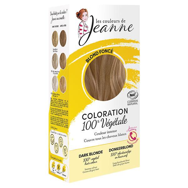 Les Couleurs de Jeanne Coloration Végétale Blond Foncé 100g
