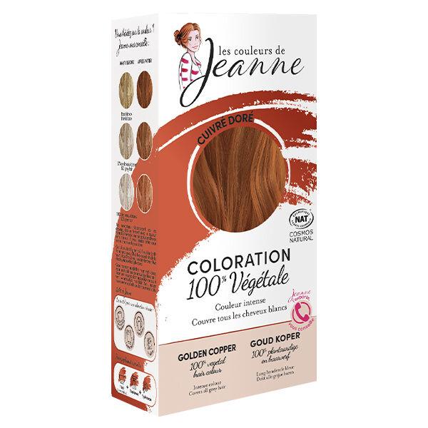 Les Couleurs de Jeanne Coloration Végétale Cuivré Doré Bio 100g