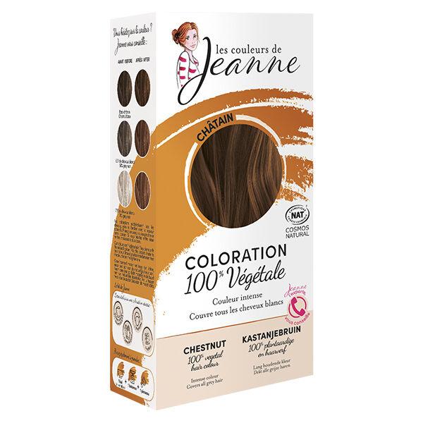 Les Couleurs de Jeanne Coloration Végétale Noisette 100g