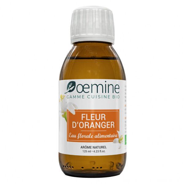 Oemine Eau Florale Alimentaire Fleur d'Oranger Bio 125ml
