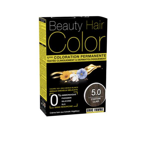 Beauty Hair Crème Color Châtain Clair 5.0