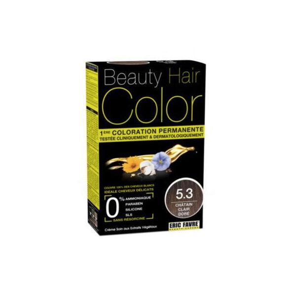 Beauty Hair Crème Color Châtain Clair Doré 5.3
