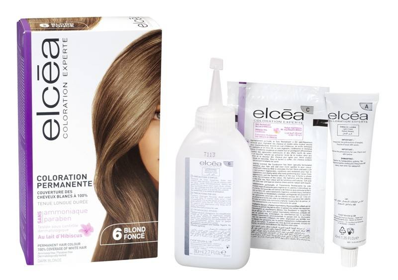 Elcea Coloration Permanente Blond Fonce N6