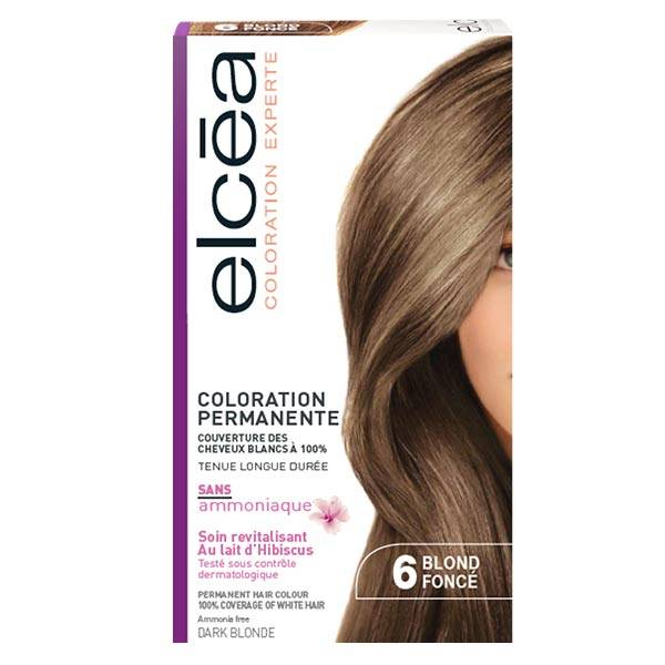 Elcea Coloration Permanente Blond Fonce N6