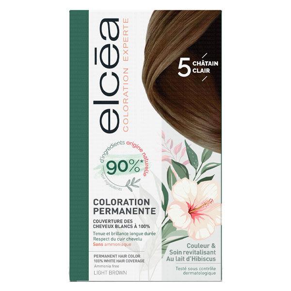 Elcea Coloration Permanente Chatain Clair N5