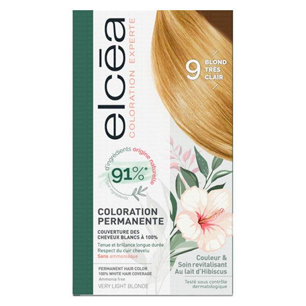 Elcea Coloration Permanente Blond Très Clair N9