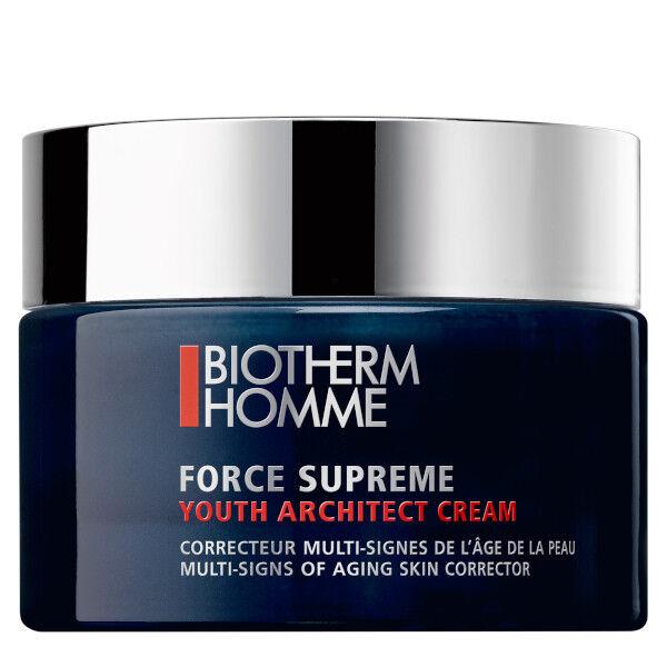 Biotherm Homme Force Suprême Soin Crème Hydratante Anti-Âge Anti-Rides 50ml
