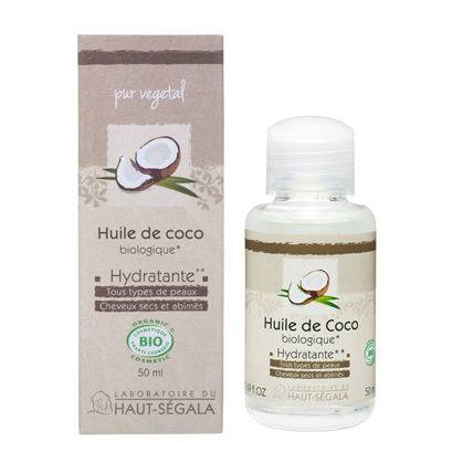 Haut-Ségala Les Huiles Végétales de Coco Biologique 50ml