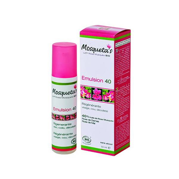 Mosqueta s Mosqueta's Emulsion 40 Bio 50ml