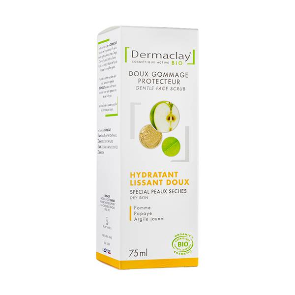 Dermaclay Doux Gommage Protecteur Hydratant Lissant 75ml