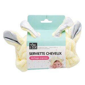 Lysse Capillaire Tom & Zoé Serviette Cheveux Enfant Girafe - Publicité