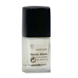 Diam Ongles Vernis Blanc à la Poudre de Diamant 11ml - Publicité