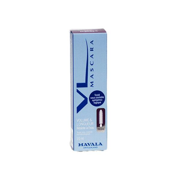 Mavala Mascara V L Volume & Longueur Résiste à L'Eau Prune 10ml