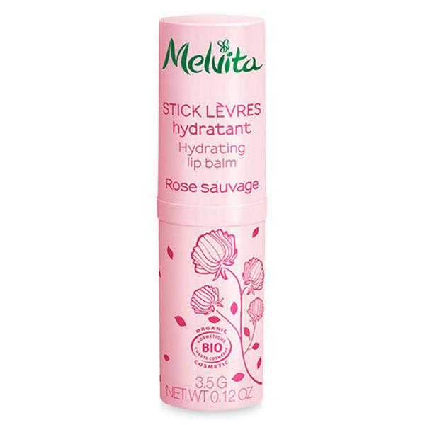 Melvita Nectar de Roses Stick Lèvres Bio 3,5g