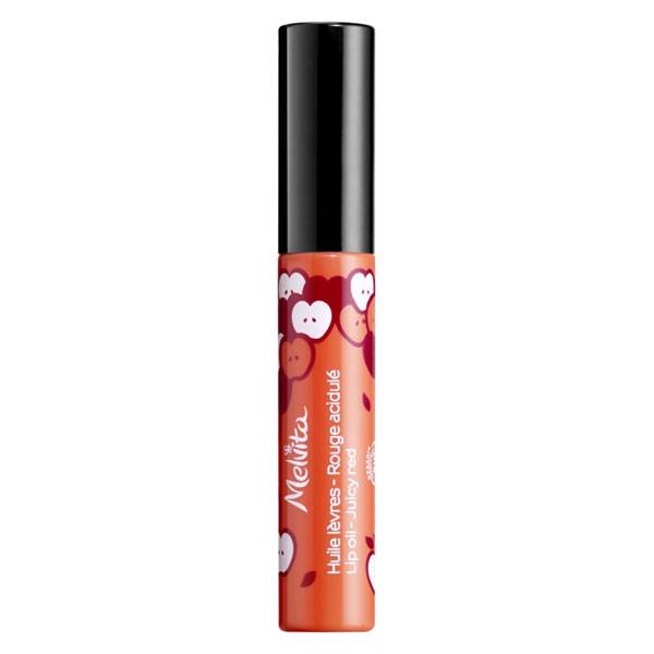 Melvita Huile de Beauté Huile à Lèvres Rouge Acidulé Bio 7,5ml