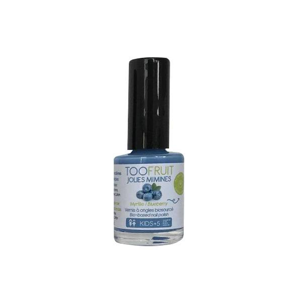 Toofruit Jolies Mimines Vernis à Ongles Myrtille 10ml