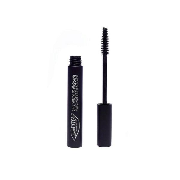 Purobio Cosmetics Mascara Glorious 01 Noir 10ml